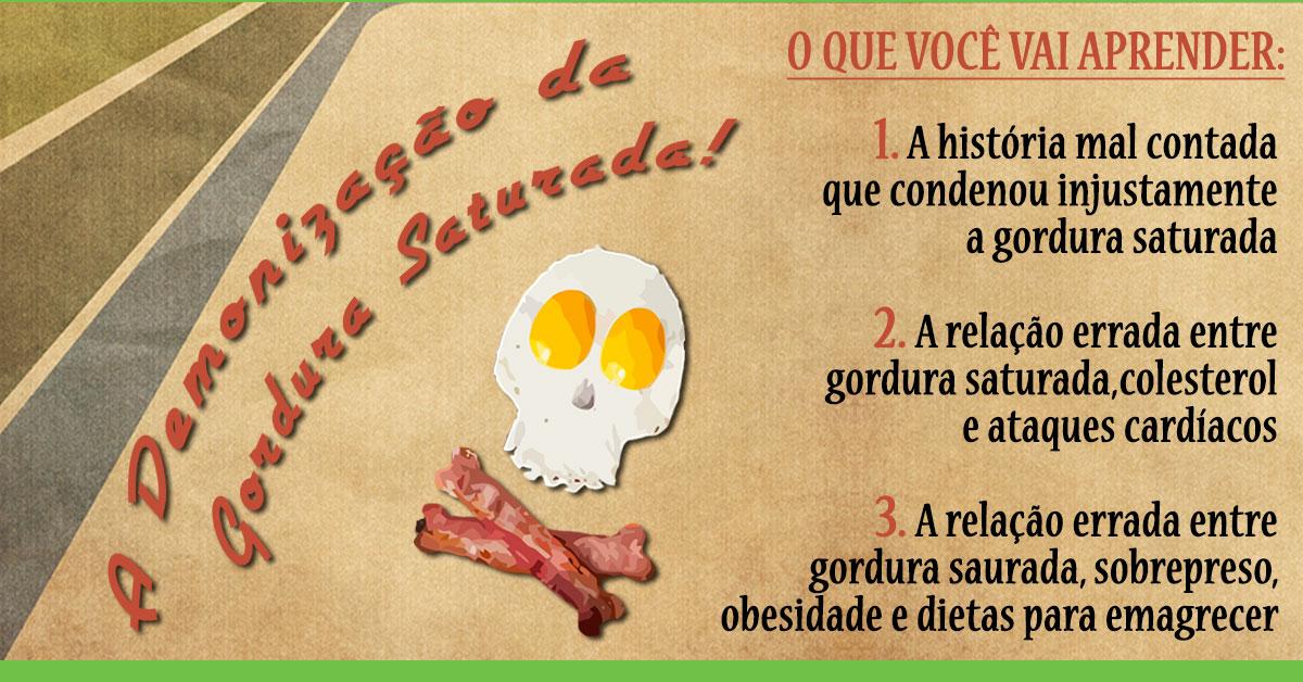 A Demonização Da Gordura Saturada!