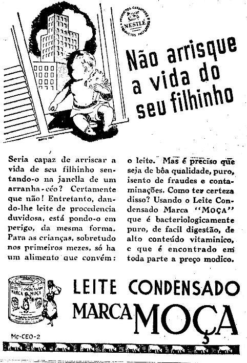 Propaganda antiga Nestlé 2 (saiba tudo sobre dietas para emagrecer)