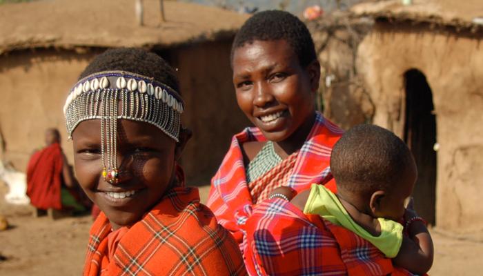Dieta para emagrecer parte 2 - Tribo masai estudada por Weston A. Price exibindo seus lindo dentes