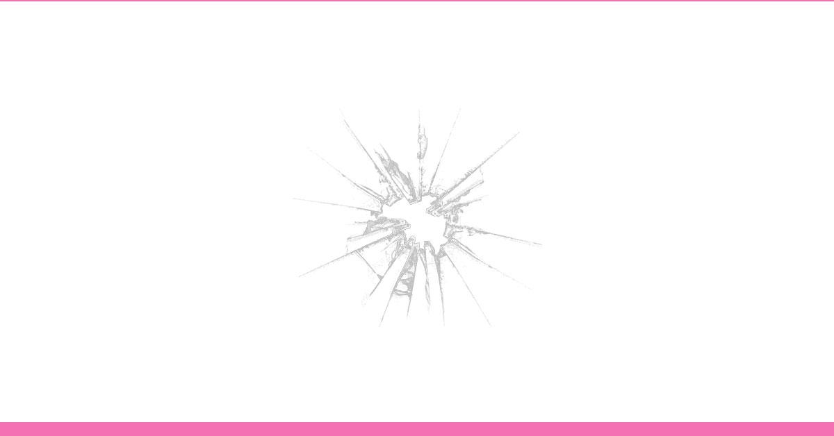 como emagrecer o rosto - entenda a teoria das janelas quebradas - foto de uma janela quebrada
