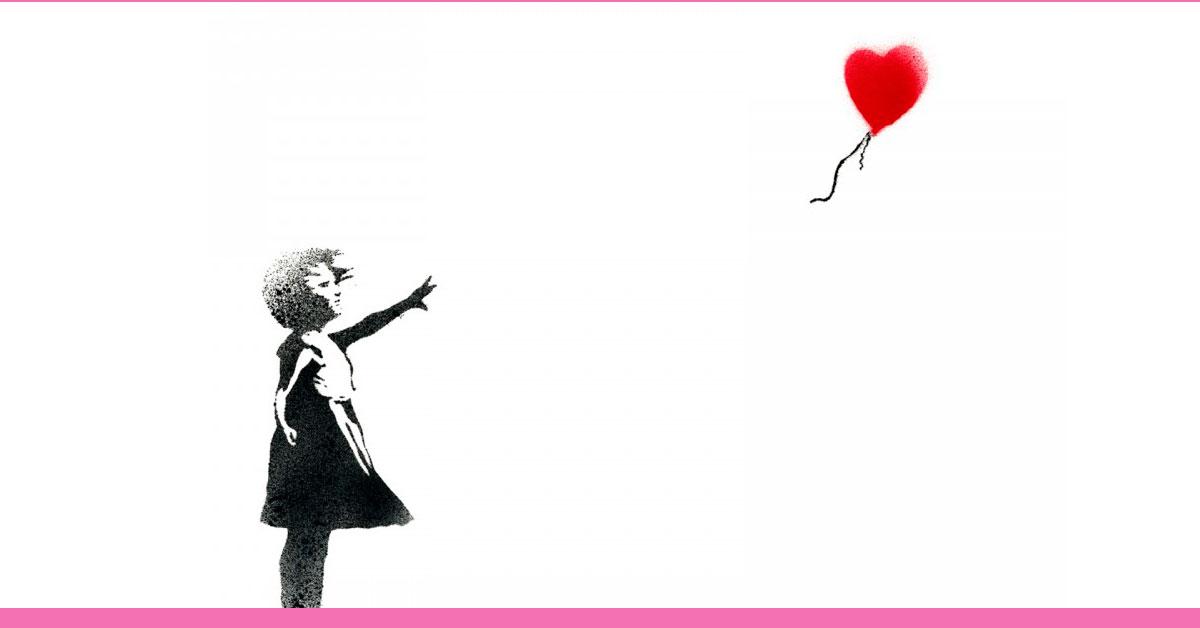 como emagrecer o rosto - dica 3 - foto ilustrativa de uma menina deixando o balão voar e ir embora