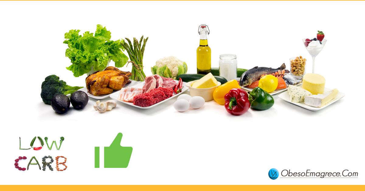 como emagrecer de vez - dica 1: escolha uma dieta low carb - foto de alimentos permitidos em uma dieta low carb