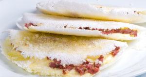 Tapioca engorda ou emagrecer - Tapioca com recheio salgado.