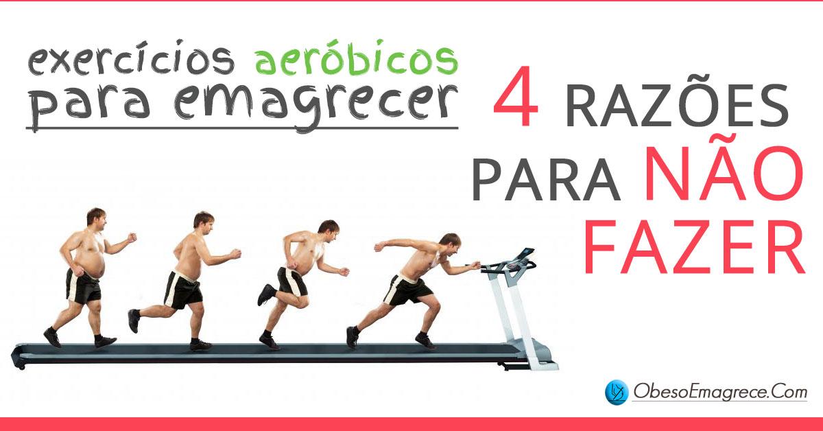 exercícios aeróbicos para emagrecer: 4 razões para não fazer - imagem representando a evolução corporal de uma pessoa que emagreceu em cima de uma esteira ergométrica