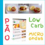 PÃO LOW CARB DE MICROONDAS: FICA PRONTO EM APENAS 2 MINUTOS! (VÍDEO + INFOGRÁFICO)